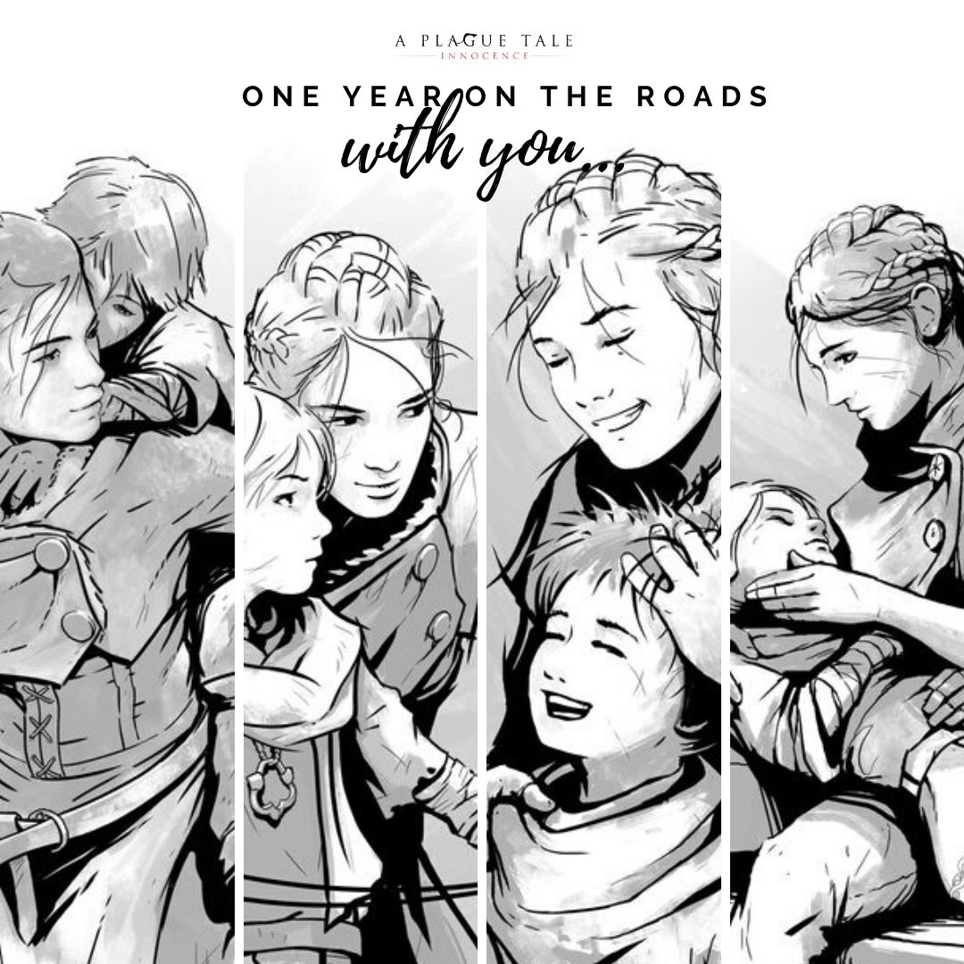 1st anniversary on the roads with you.jpg