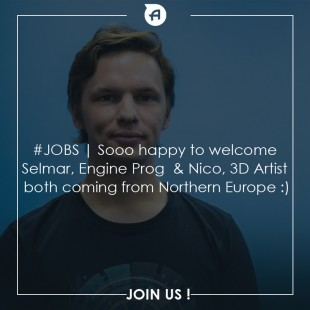 JOBS   New dev and artist are coming :)